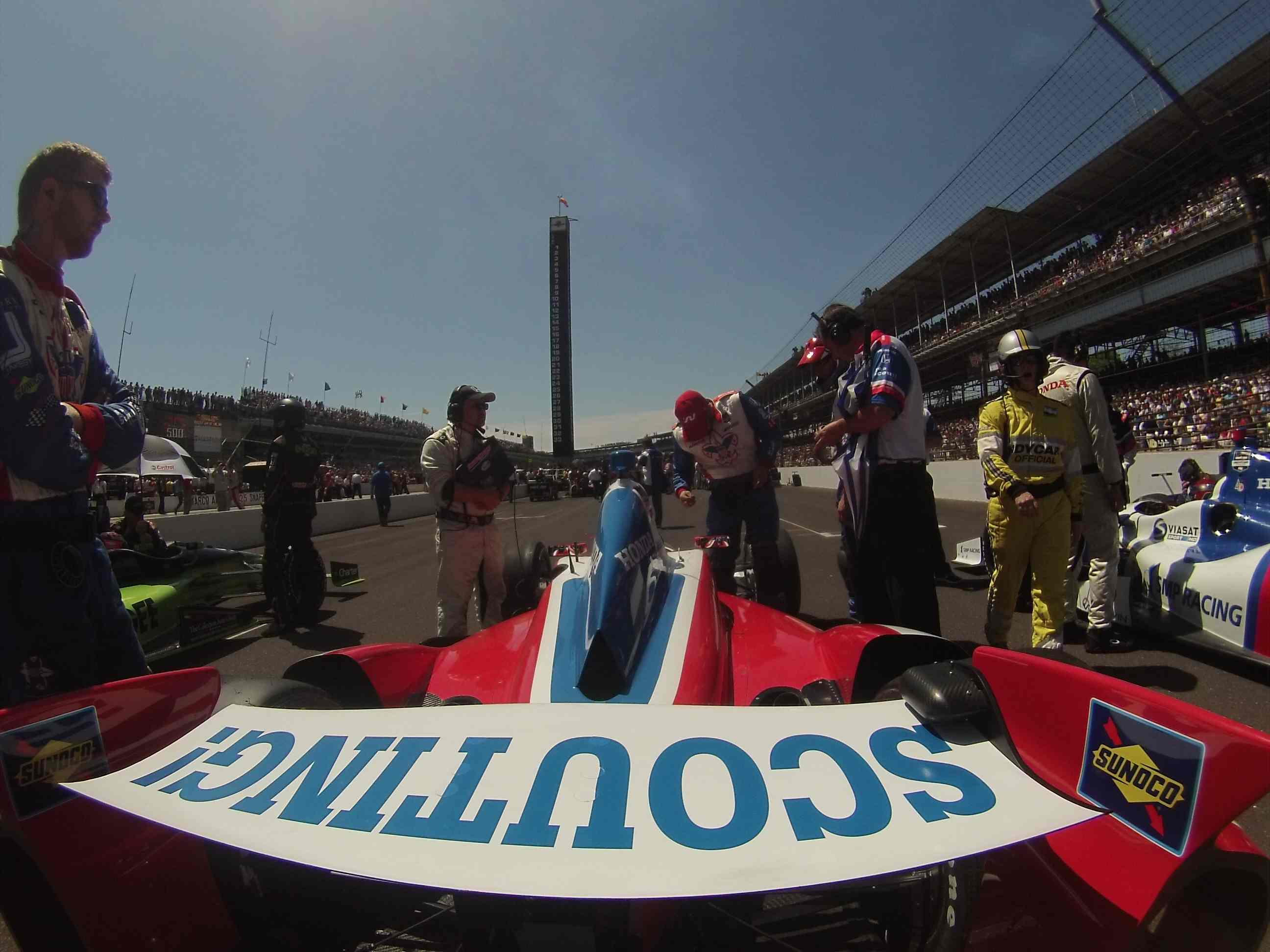Debris Spells Disappointment for Justin Wilson in Indianapolis 500